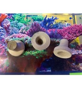 Reefplug Rund mit Loch 100 Stück
