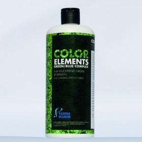 Color Elements Green Blue Complex